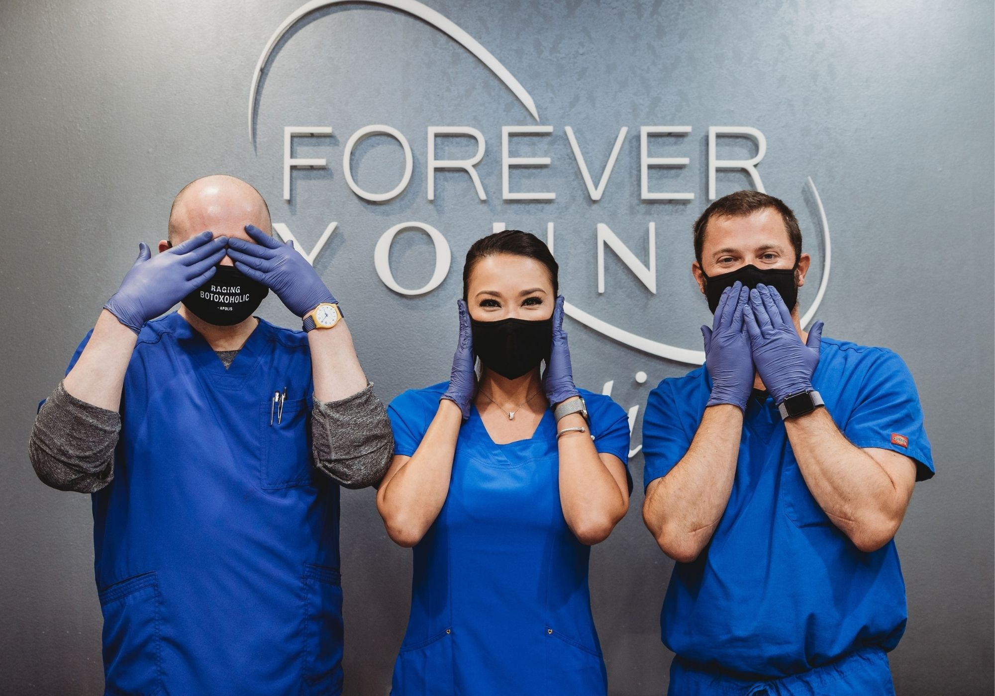 Forever Young Aesthetics microneedling team in Tampa FL