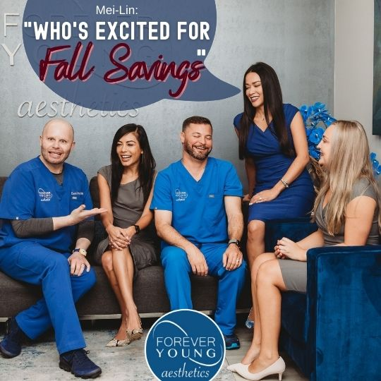 Savings Promo for Forever Young Aesthetics in South Tampa FL
