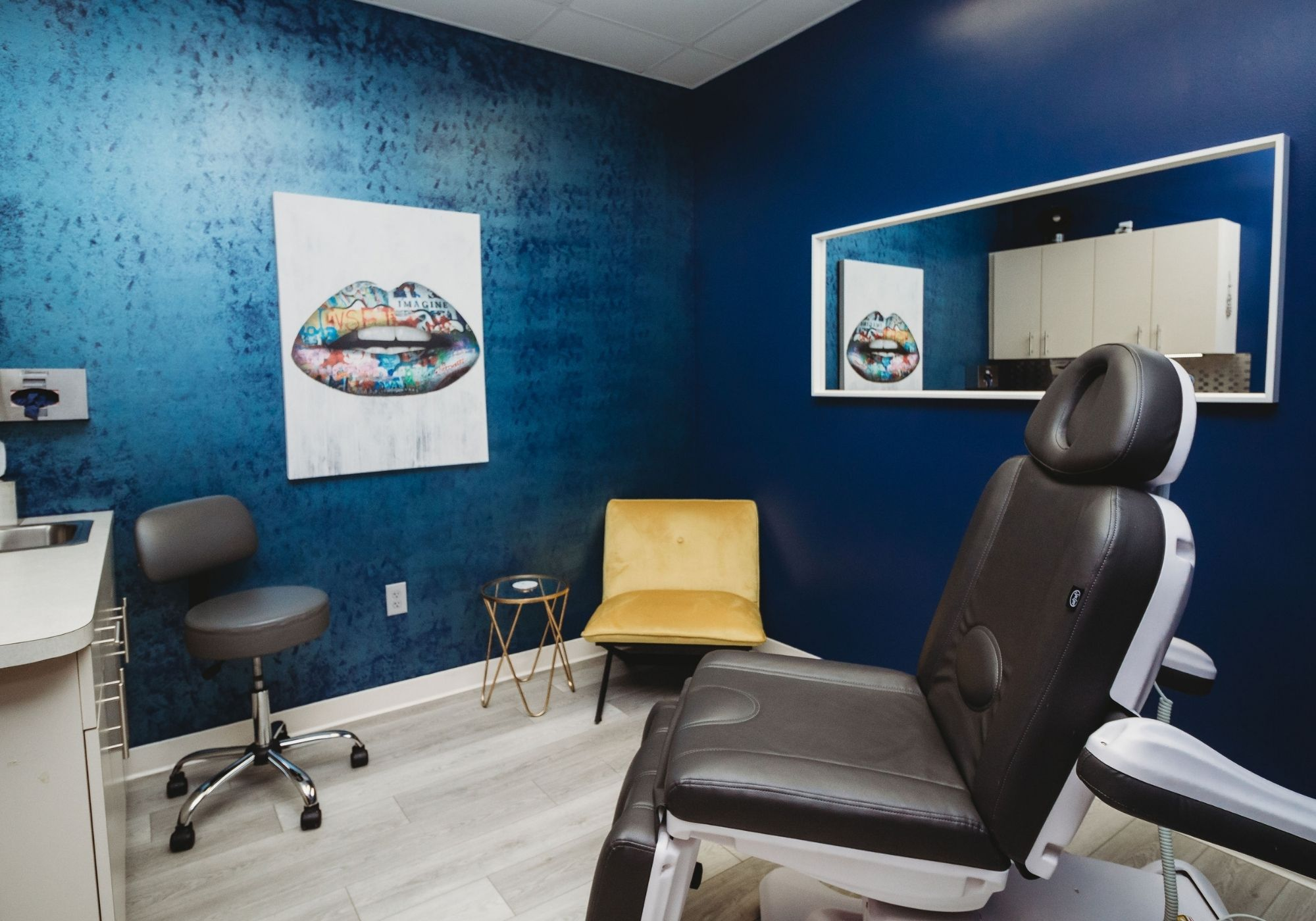 Treatment Room at Forever Young Aesthetics in Tampa FL