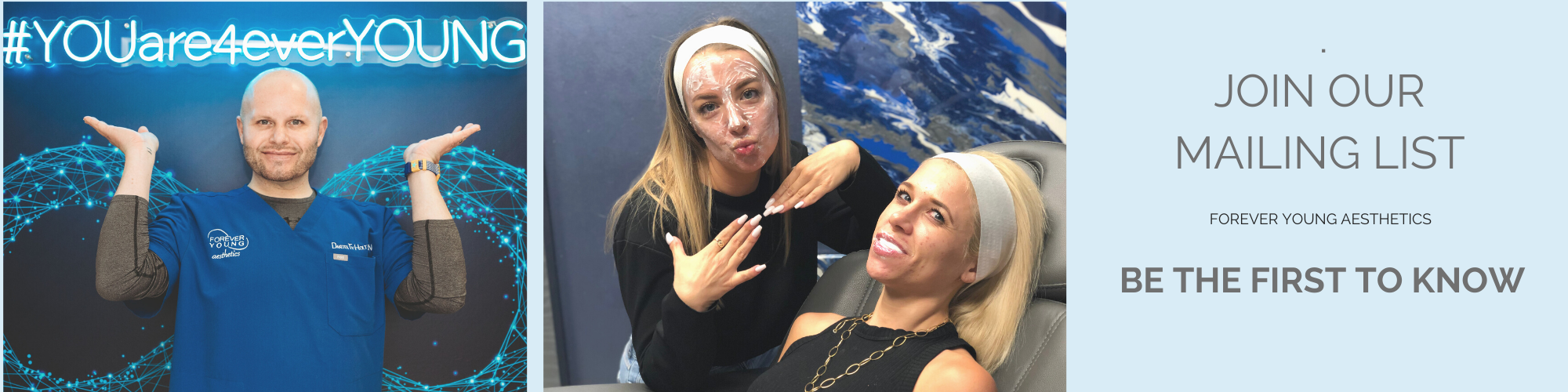Mailing List for Medspa Forever Young Aesthetics in Tampa FL