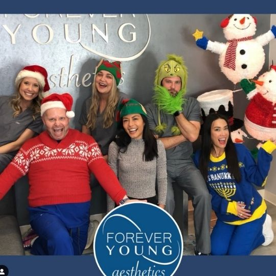 Mei-Lin with Team at Forever Young Aesthetics in South Tampa FL