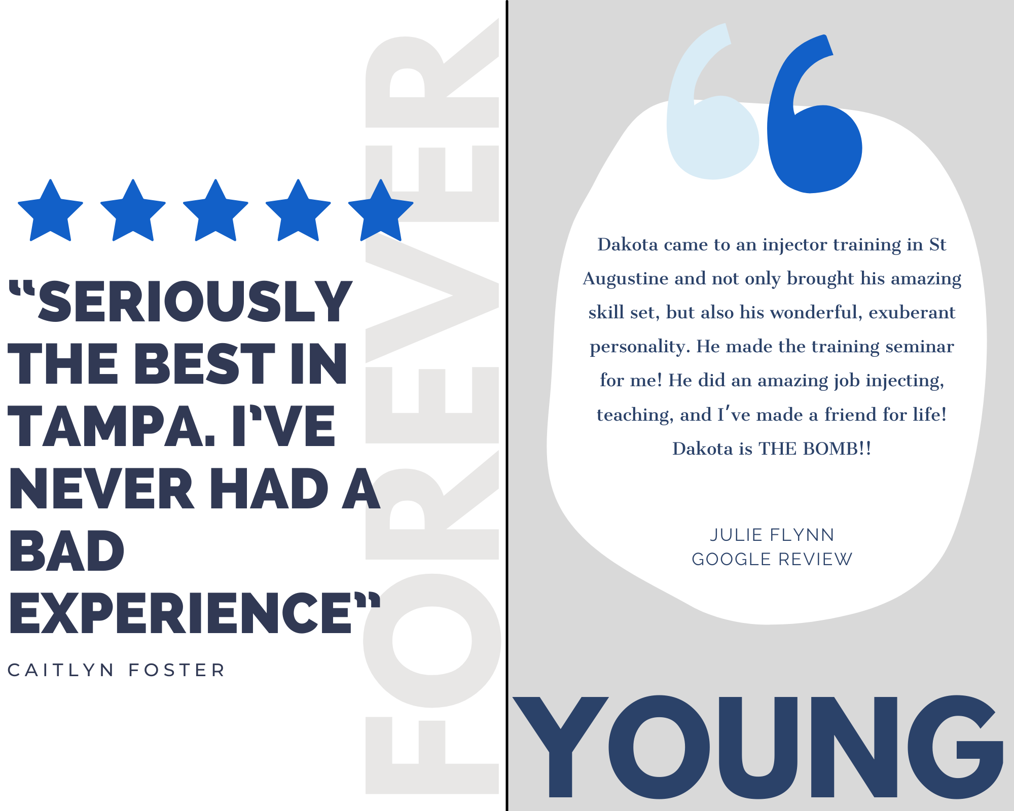 Client Reviews for Forever Young Aesthetics in Tampa FL