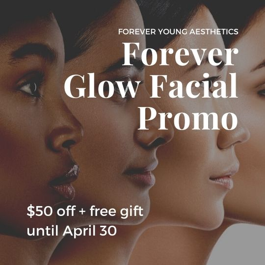Diamond Glow Facial Promo at Forever Young Aesthetics in Tampa FL