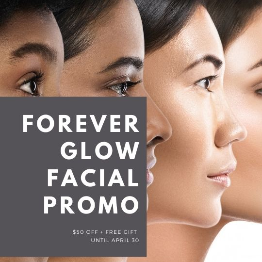 Facial Promo in April 2021 at Forever Young Aesthetics in Tampa FL