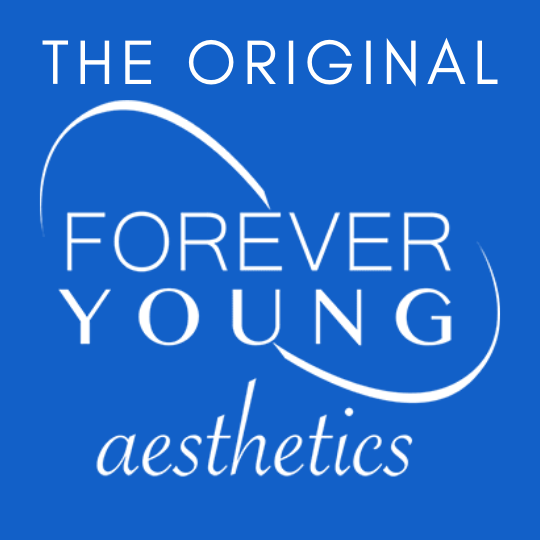 Throwback Forever Young Aesthetics Logo in South Tampa, Florida
