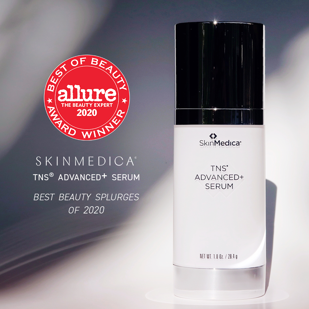 TNS Advanced+ Serum by SkinMedica Skincare at Forever Young Aesthetics in Tampa, Florida.